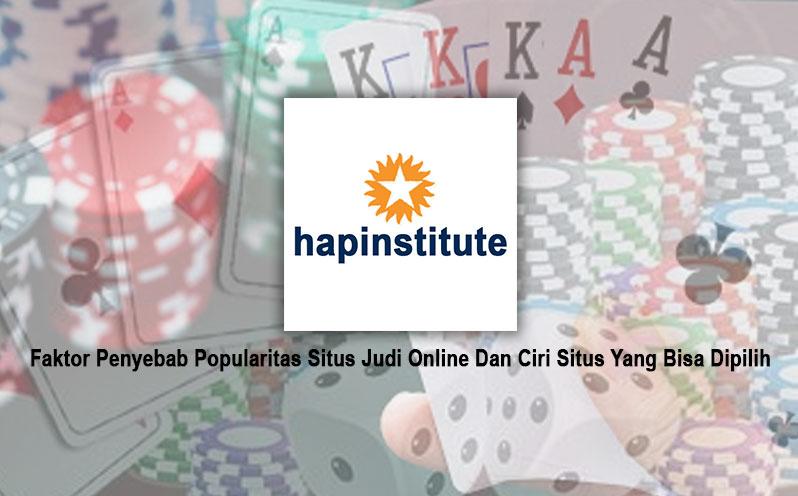 Situs Judi Online Dan Ciri Situs Yang Bisa Dipilih - Situs Poker