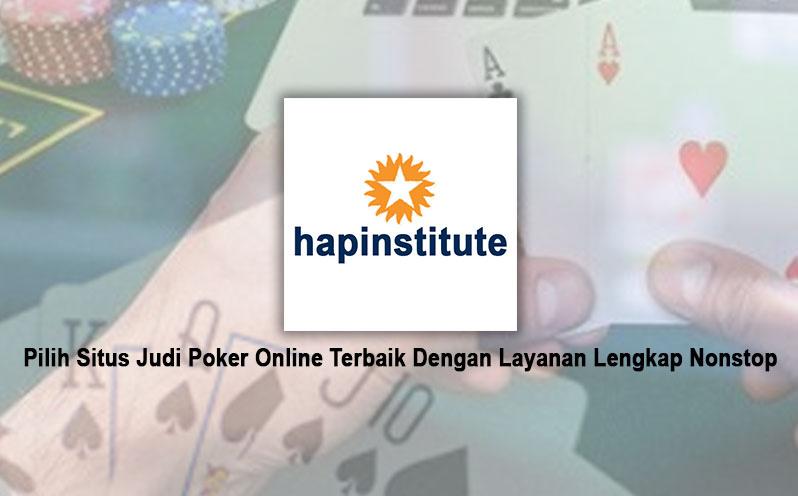 Judi Poker Online Terbaik Dengan Layanan Lengkap - Situs Poker
